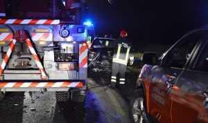 Spaventoso incidente a Fiorenzuola, Schianto fra tre auto
