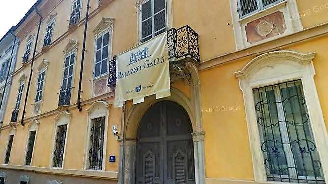 A palazzo Galli della Banca di Piacenza