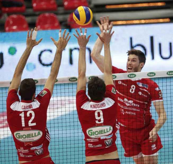 Gas Sales Piacenza Volley Klobucar