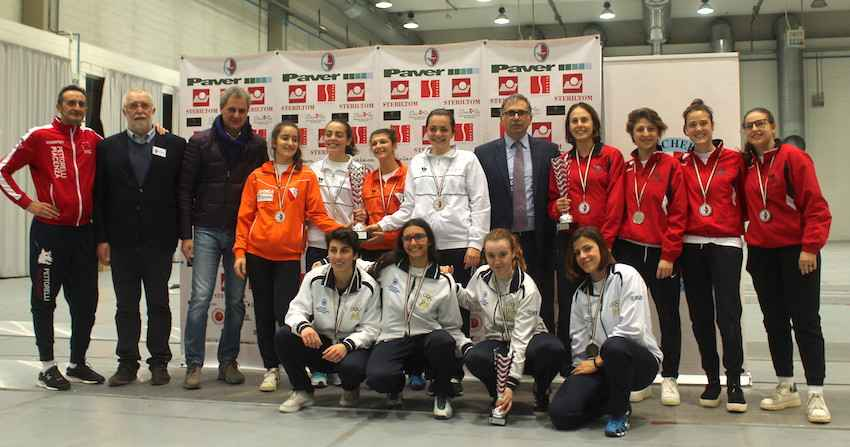 Campionati regionali a squadre di scherma