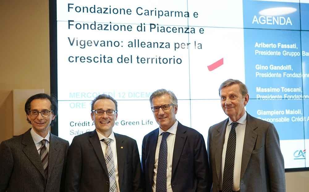 Fondazione e Cariparma