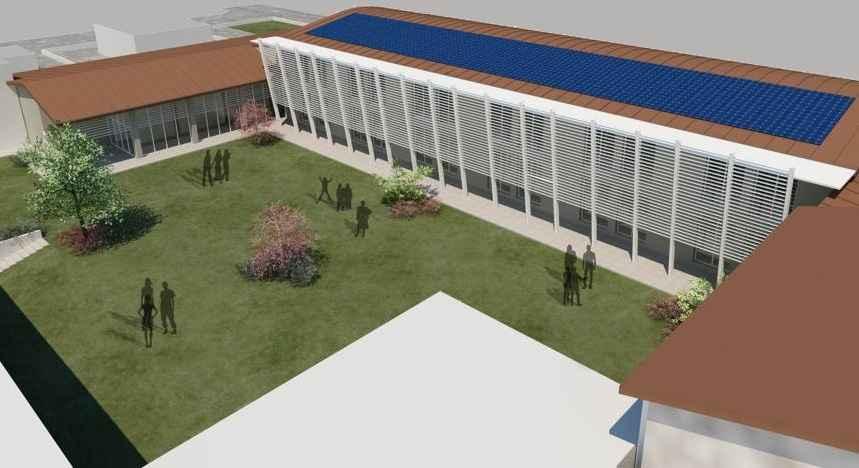 Nuova scuola a Cadeo
