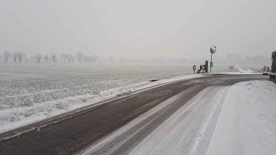 Torna la neve a Piacenza